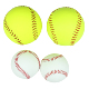 High Quality Leather And PVC Material Custom Blank Baseballs For Wholesale Outdoor Sports Baseball Softball Ball Gifts Factory