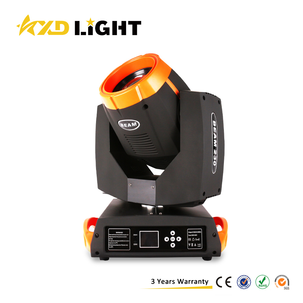 Sharpy 230w Lamp Light 7r Beam Moving Head Lights Beam 230 Moving Head For Stage Decoration