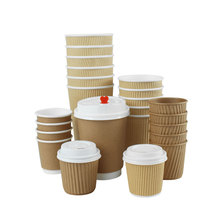 4 unze 8 unze 12 unze 16 unze kaffee tasse takeaway_printed papier tassen disposable_hot tasse mit deckel