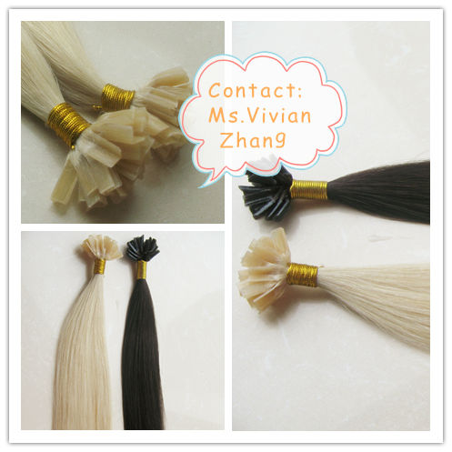 Goodyard High Quality Virgin Hair Pre bonded cold fusion hair extensions