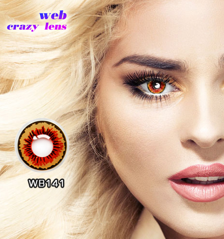Wild eyes crazy contact lens best colorful contact lenses yearly