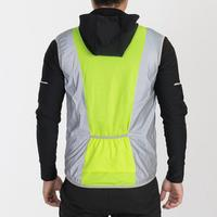 Summer Vest Reflect 360 Men's Cycling Running Vest With Back Pockets