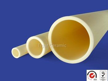 99 7 Alumina Ceramic Tubes For High Temperature 1800