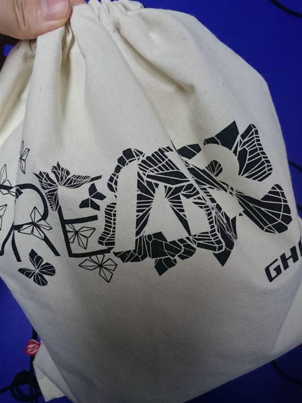 Plastic cotton bag drawstring for shopping