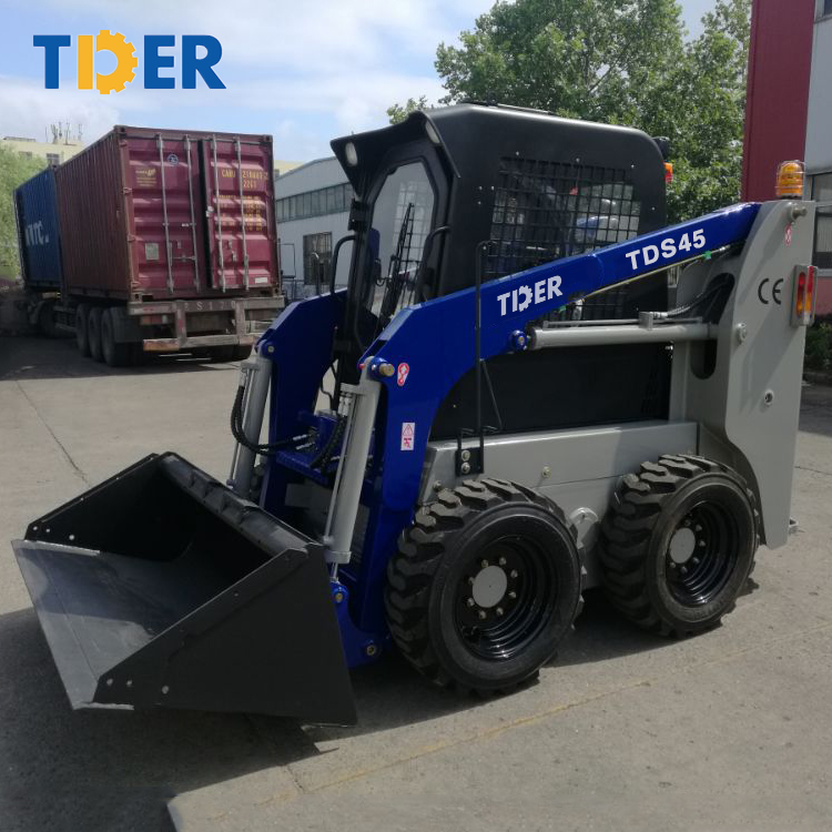 China new loader small skid steer loader not used construction machinery