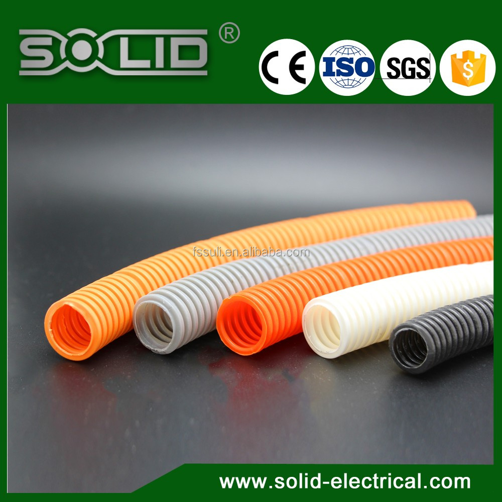 Flexible Wire Loom Nylon Corrugated Split Plastic Tube - Buy ...
