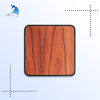 Wood Factory Wholesale Computer Accessories Wooden Mouse Pad for Notebook