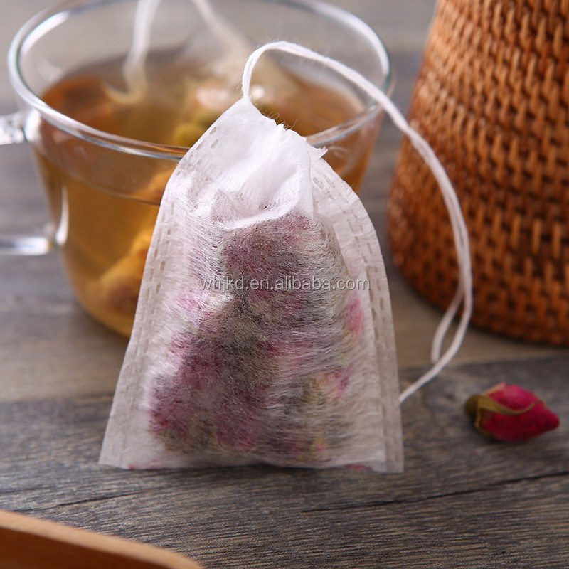 Hot Sale Disposable Corn Fiber Tea Filter Bags Empty Tea Bag Biodegradable