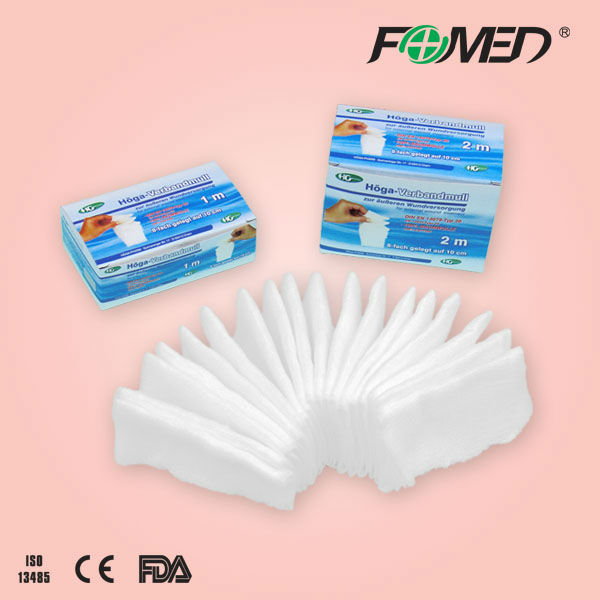100% cotton gauze swabs, with or without X-Ray