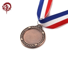 Wholesale Custom Miraculous Metal Sports Bronze Plated Blank Award Medal Holder