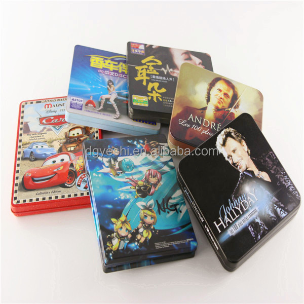 Wedding favors cd case dvd storage box disc holder manufacturing