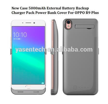 huge selection of e805d f5e06 New Case 5000mah External Battery Backup Charger Pack Power Bank Case For  Oppo R9 Plus - Buy Power Bank Case For Oppo R9,Oppo Battery Case,5000mah ...