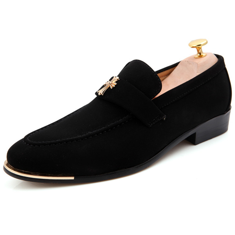 Men Loafers 2015 New Casual Flats Man Shoes Summer Breathable Zapatos Hombre Vestir Pointed Toe Loafers Shoes Black Size 37-43