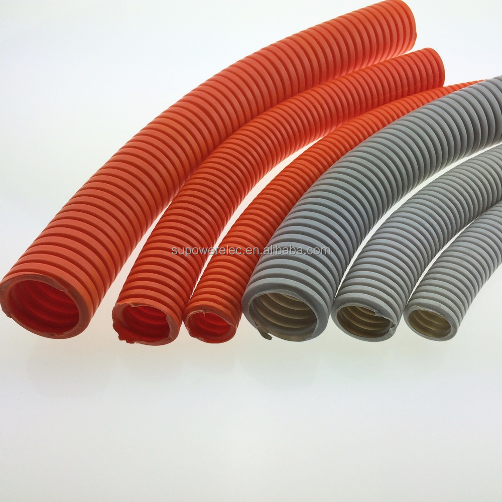 Pvc Pipe Conduit Duct For Electric Communication Industries Electrical Orange