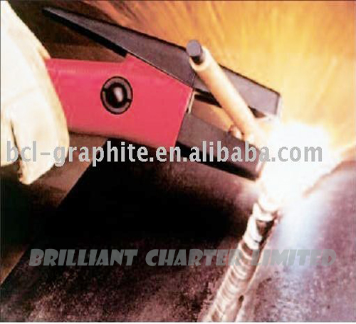 Welding Electrode Gouges Copper Coated Carbon Arc Gouging Torch ...
