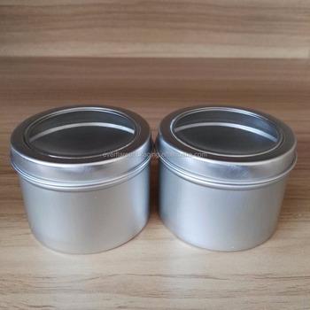 Lata De Alumínio 80g Com Tampa De Roscalata Redonda De Alumínio Com