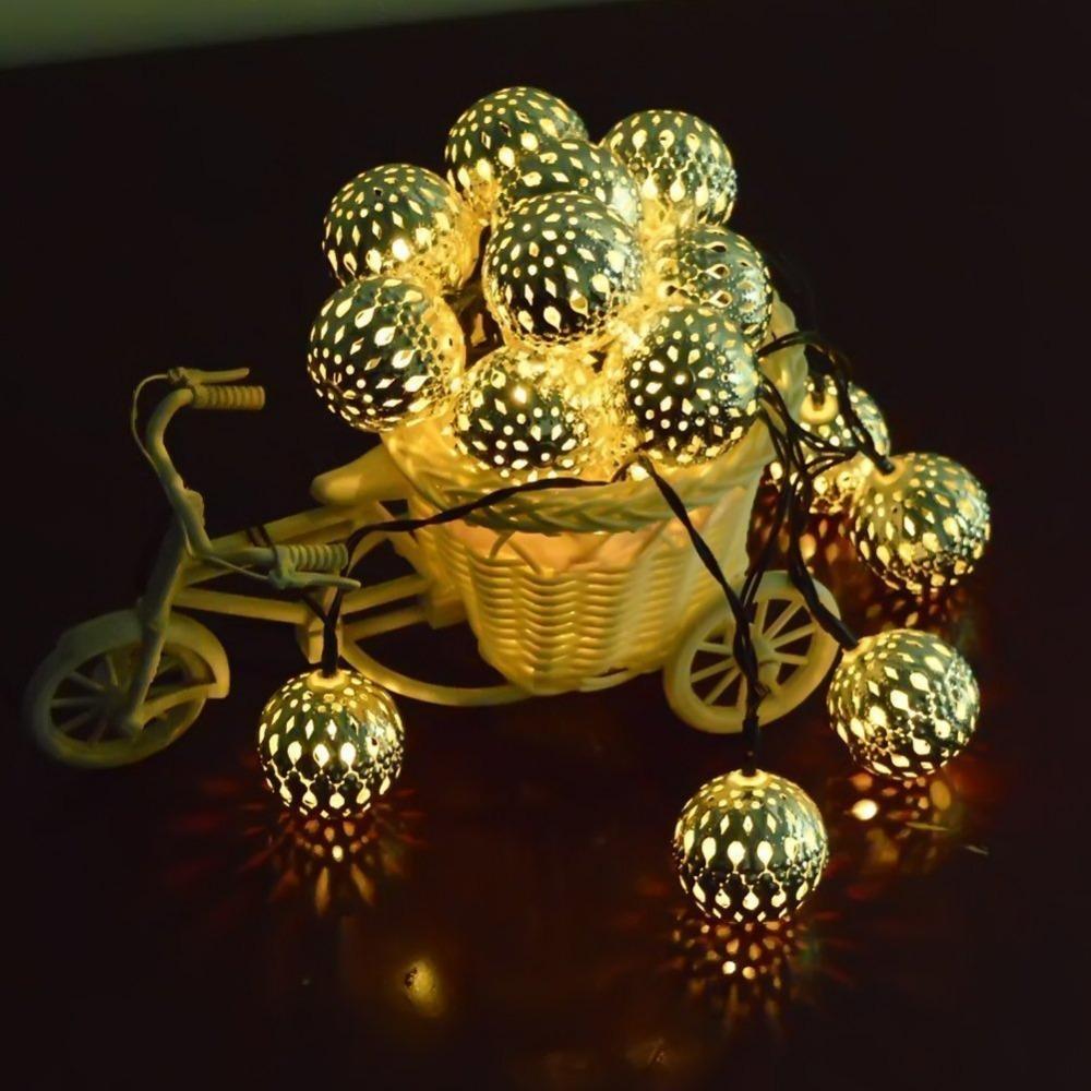 solarleuchten globus lichterketten f r haus terrasse graden ferien party weihnachten b ume. Black Bedroom Furniture Sets. Home Design Ideas