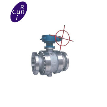 Double Eccentric Segmented Metal Seat Ball Valve for Gas and Oil