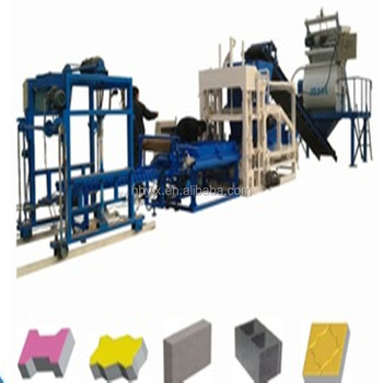 Precast Concrete Products Qtj4-18 Hydraulic Automatic Brick Machinery Made  In China Alibaba - Buy Precast Concrete Products,Brick Making