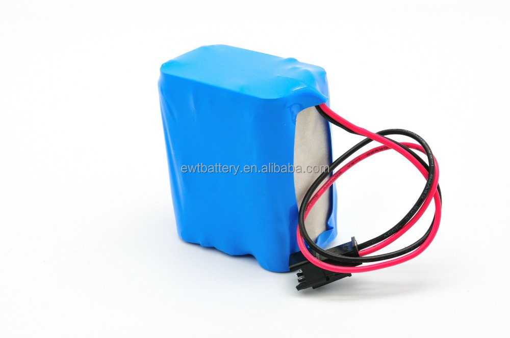 Rechargeable automative 12v 5ah lithium battery pack 18650 2600 2200 3500mah li ion battery from EWT