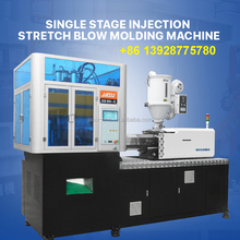 FOB GZ good price 5.5T automatic Tanwan moter server germany one step PET injection stretch blow molding machine hot sale