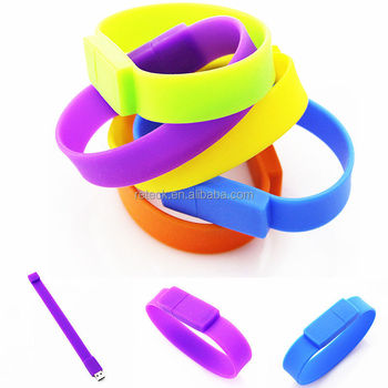 Real capacity Silicone Bracelet Wrist Band 32GB 16GB 8GB 4GB USB 2.0 USB Flash Drive Pen Drive Stick U Disk Pendrives