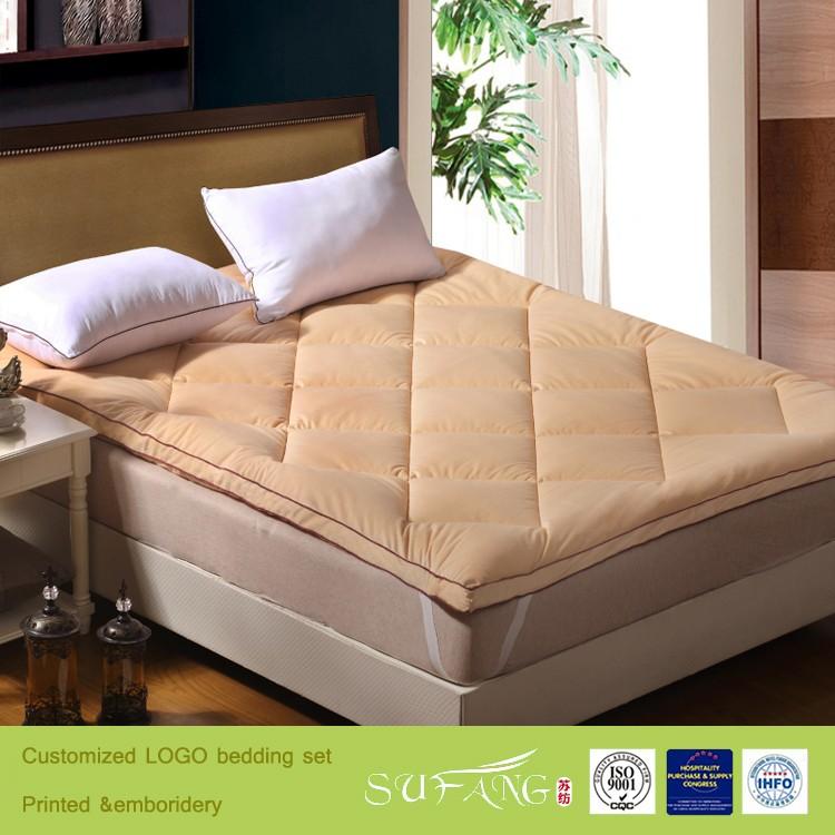 Three Dimensional Velet Quilting Seam Used 5 Star Hotel Furniture Dubai Mattress