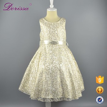 Latest DESIGN Sequin Baby Girls Birthday Tutu Dresses Kids Party Wear Wedding Satin Formal Frock