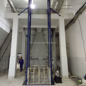Construstion Warehouse used indoor cargo lift platform electric elevator factory price CE