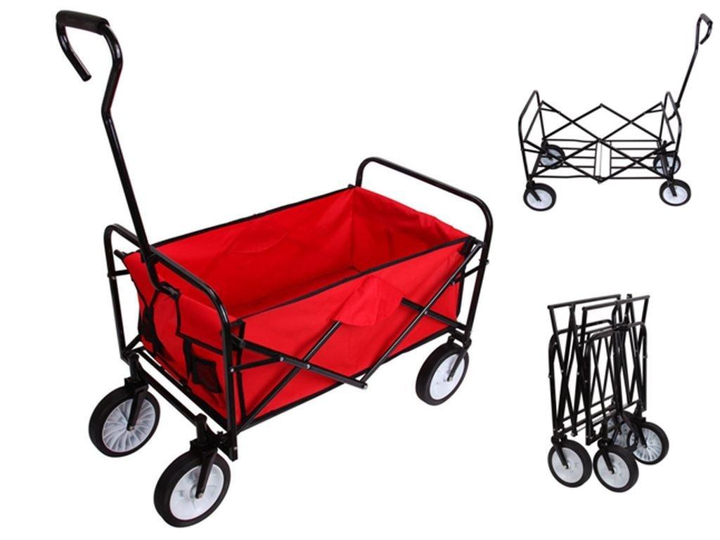 Soogo Household Garden Folding Wagon Outdoor Yard Folding Wagon /Cart