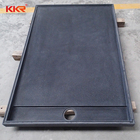 freestanding high sided shower tray, marble stone resin shower pan, shower drain base