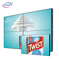 perfect style! 46,55inch shopping mall LCD advertising network video wall panel