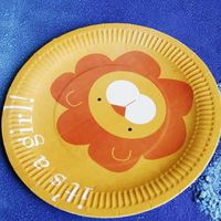 flower design paper plates / children paper plates / luxury paper plates with high quality