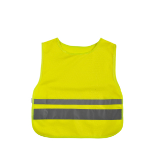 Children Security Vest with different width Hi-Vis Reflective Tape