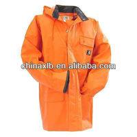 Carhartt Jackets: Men's Yellow Waterproof Surrey Rain Jacket