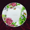 custom logo ceramic plates dishes wholesale,cheap dinner plates,printing plates dishes for restaurant