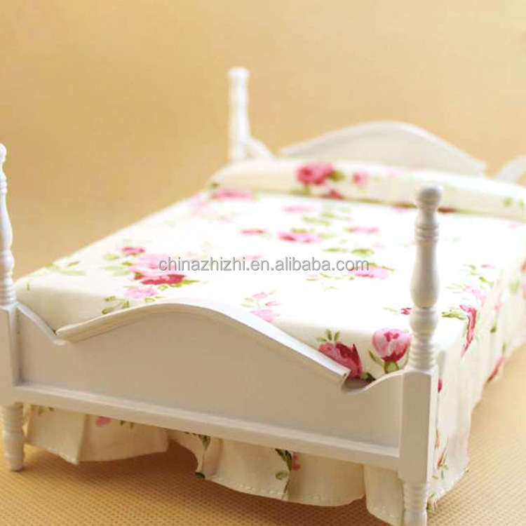 Wholesale Wooden Doll House Doll Bed For American Girl Buy
