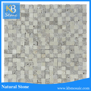 Beige and Travertine Marble Stone Tile