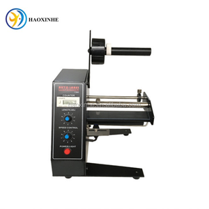 Automatic label peeling machine/label dispenser machine/adhesive labeling machine