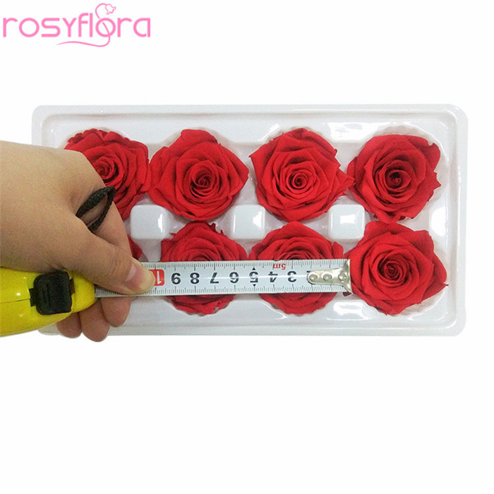 Wholesale real natural wedding rose preserved flower gift box