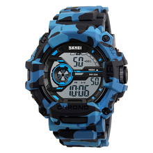 SKMEI 1233 hoge kwaliteit horloges gemaakt in china <span class=keywords><strong>camouflage</strong></span> plastic digitale <span class=keywords><strong>horloge</strong></span> militaire leger <span class=keywords><strong>horloge</strong></span> japan beweging