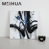 Cool canvas framed wall abstract art paintings for living room