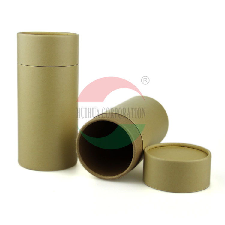 Kraft Tubes Wholesale Mailing Containers Small Cardboard Tubes Paper Tube Packaging