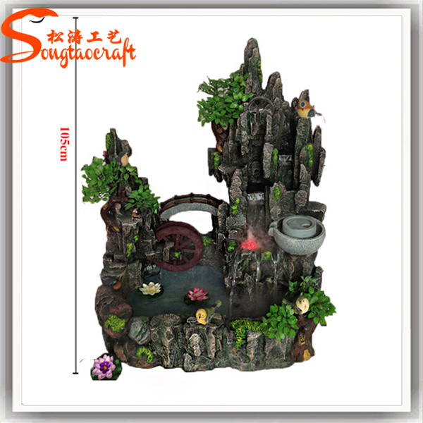 Mini Indoor Artificial Waterfall Fountain For Sale