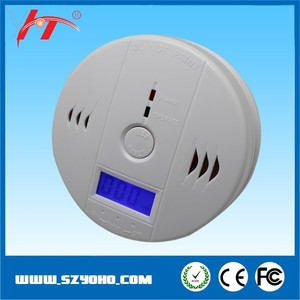 Home Safety fire alarm security system CO alarm detector