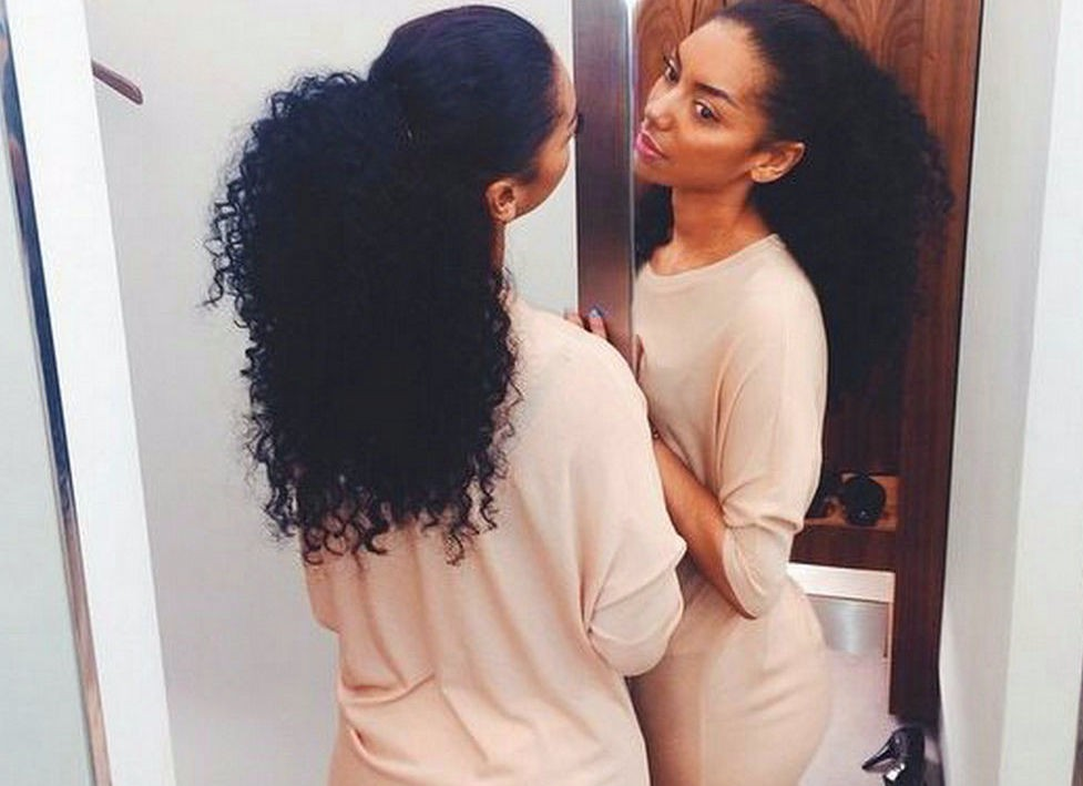 Peachy Wholesale Short Afro Puff Kinky Curly Ponytail Hair Extension Clip Hairstyle Inspiration Daily Dogsangcom