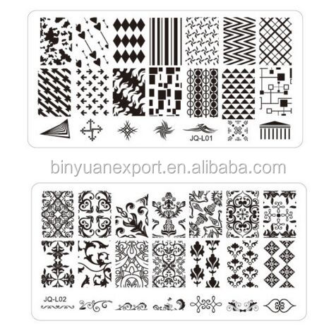 Professional Custom Nail Art Stamping Plates Manicure Table Mat