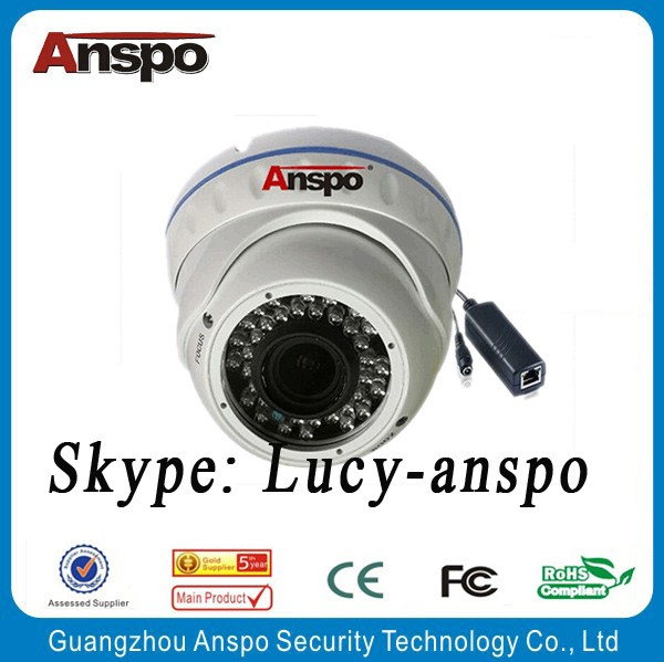 Anspo IP5.0 mp zoom varifocal dome camera CCTV security camera