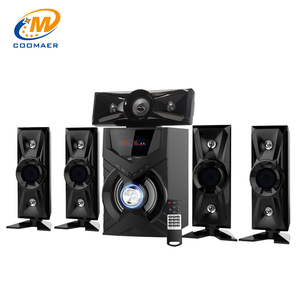 USB SD FM BT Active Amplified Karaoke System DVD 5.1 Channel Home Theater Speaker
