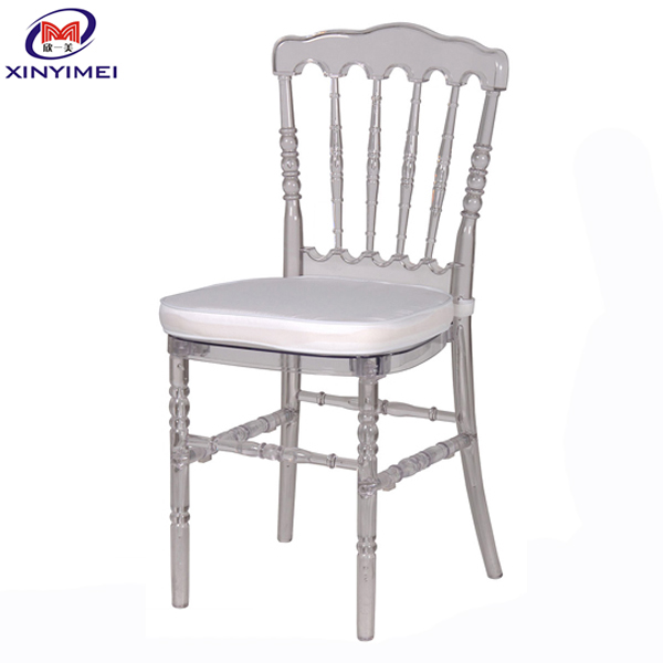 No Folded and Commercial Furniture General Use party wedding ceremony event rental Acrylic Chiavari chair